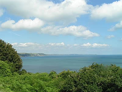 Views towards Whitsand Bay from the Wooldown