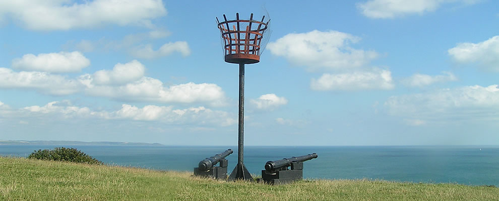 Beacon and canons on the Wooldown