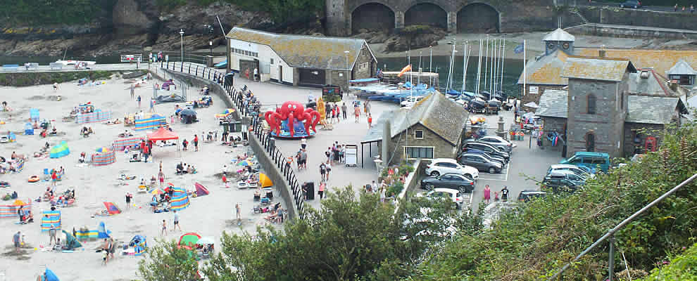 East Looe Beach and Promenade