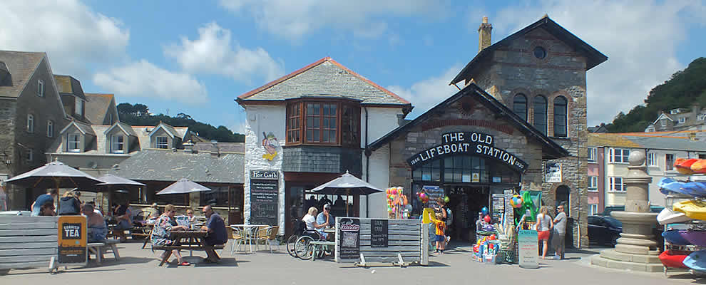 Old Lifeboat Station, East Looe
